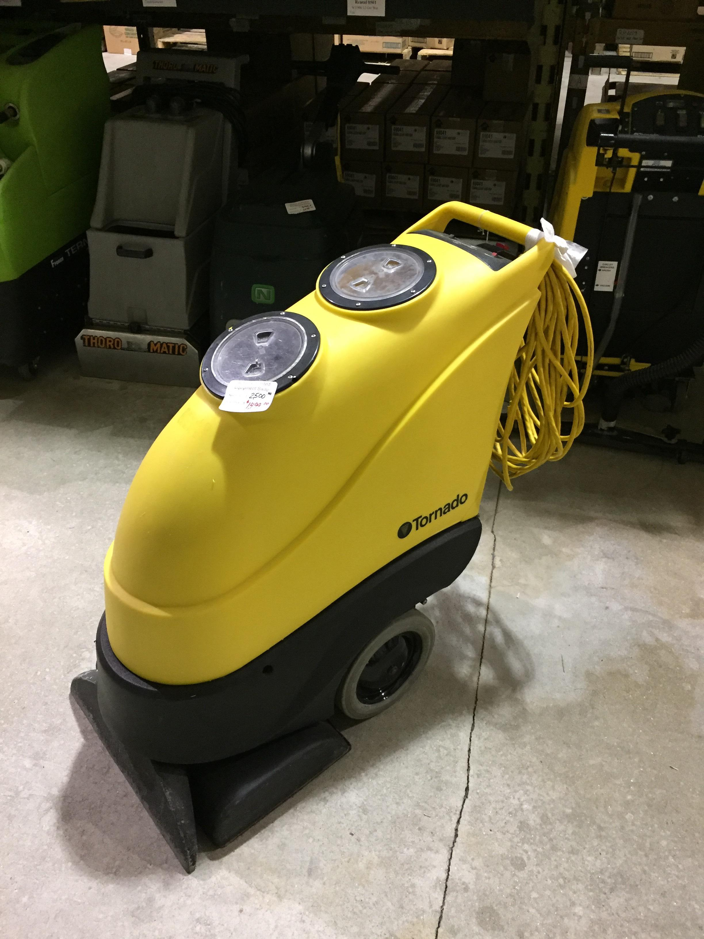 used tornado carpet extractor
