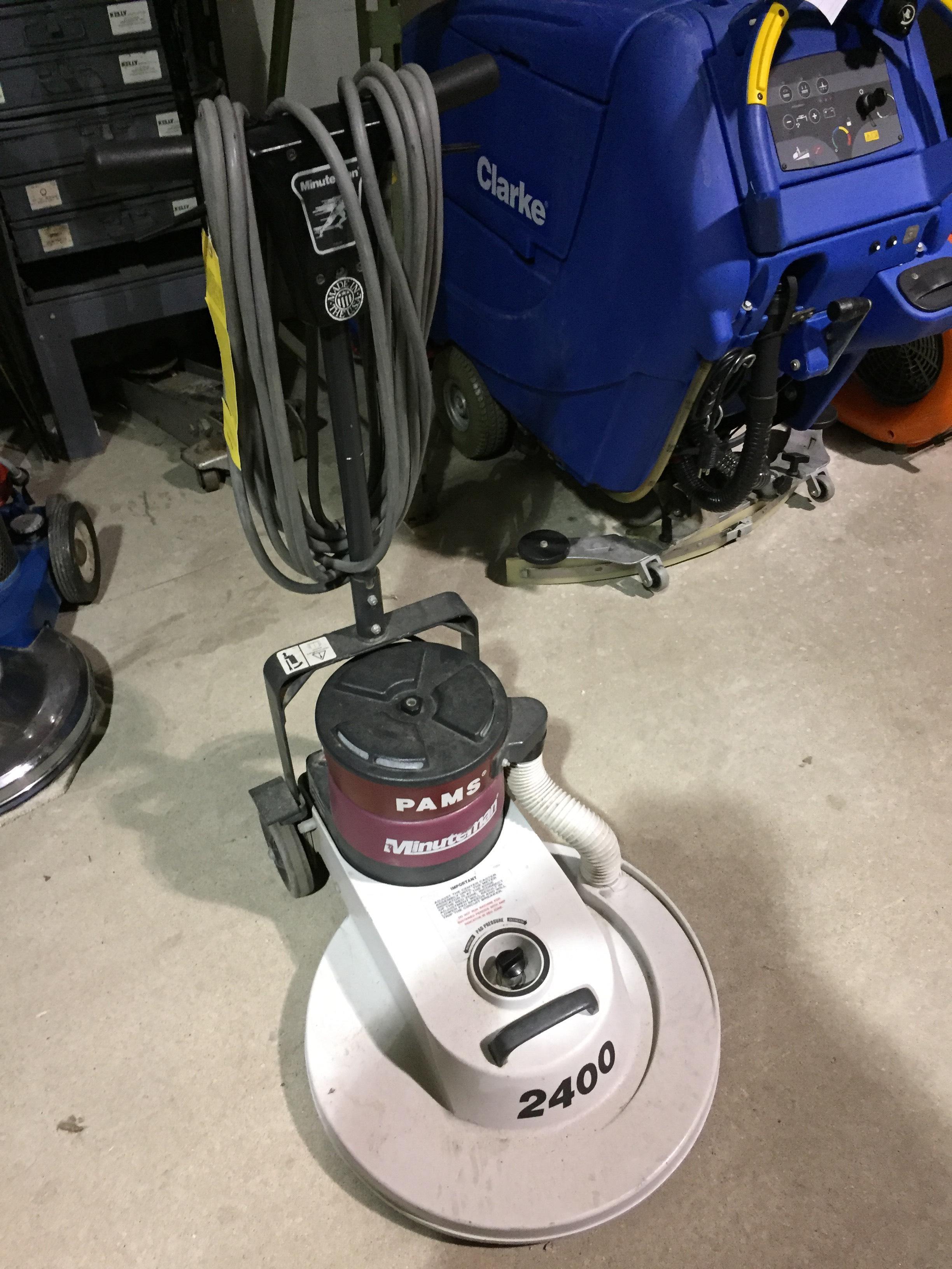 used floor burnisher