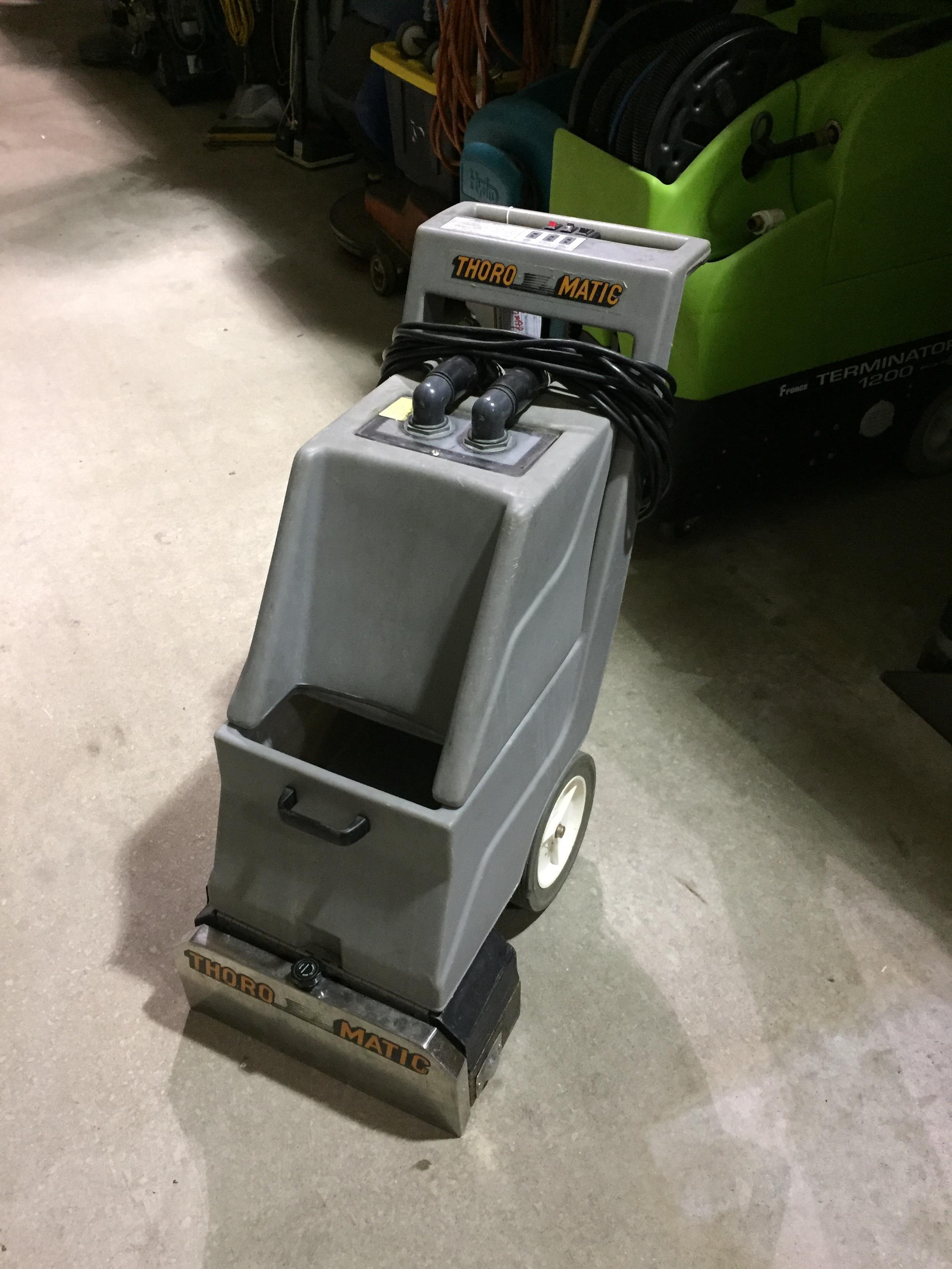 used thoromatic carpet extractor