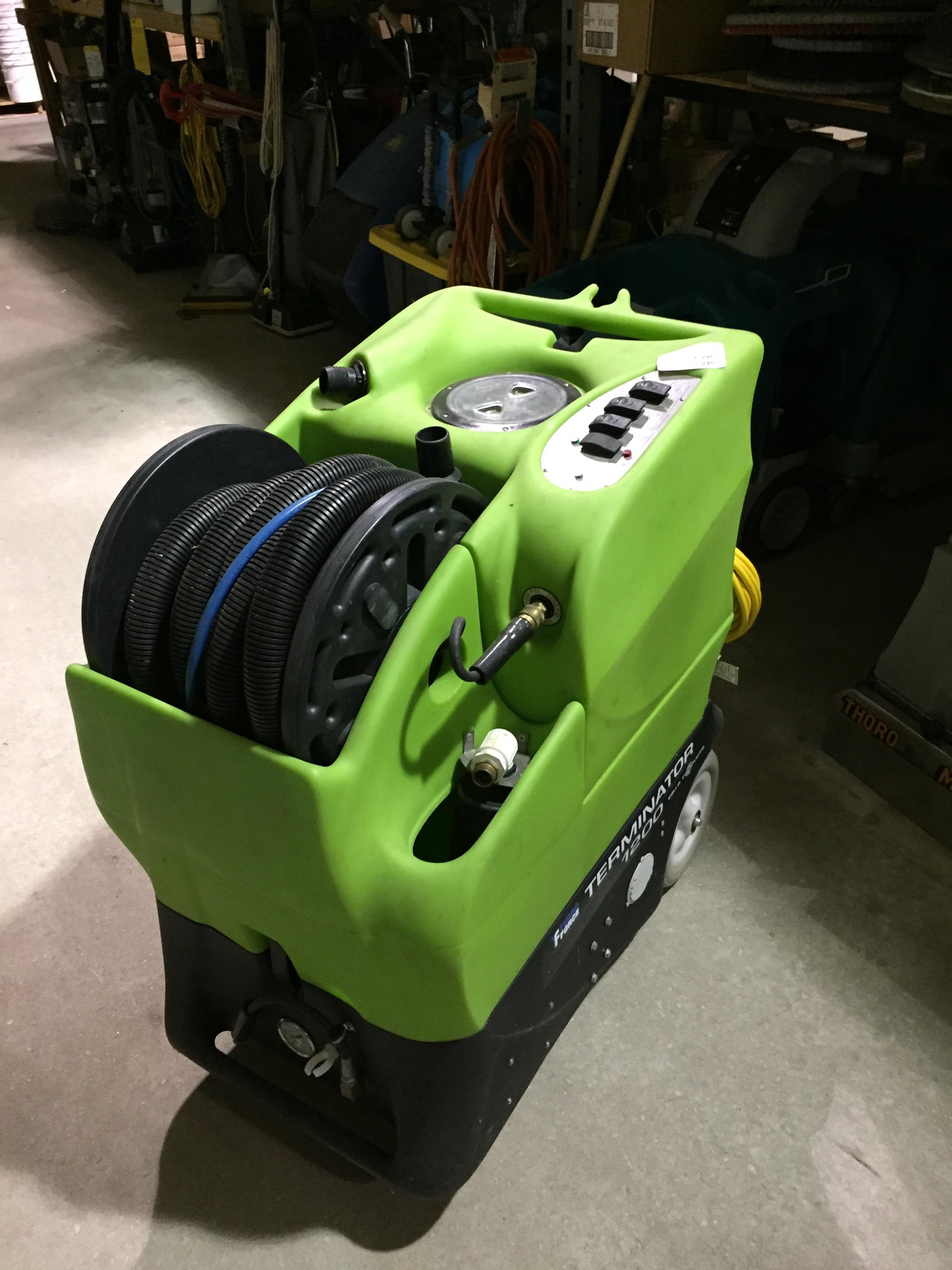 used carpet extractor