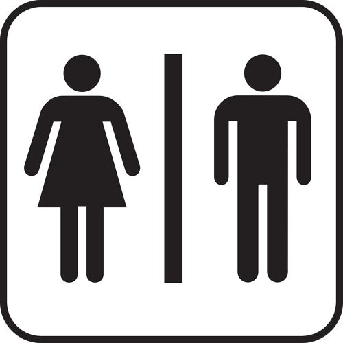 No More Restroom Stall Traffic in the Women's Restroom