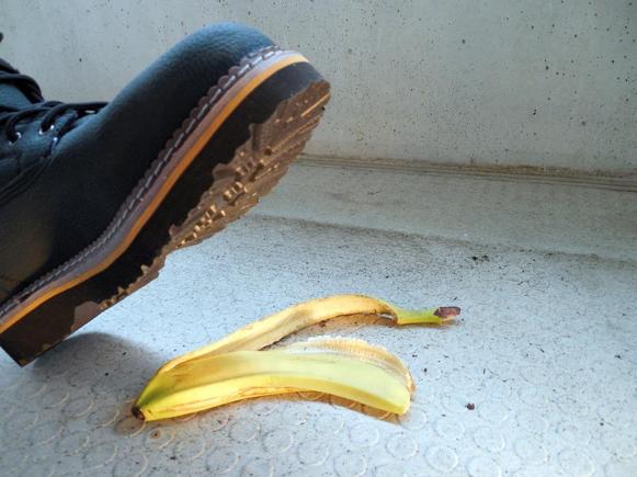 Avoid Slips and Falls - 1