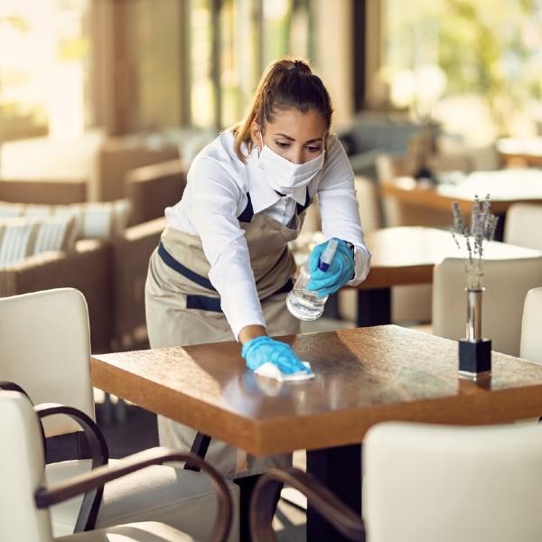 The Best Way to Disinfect Restaurants