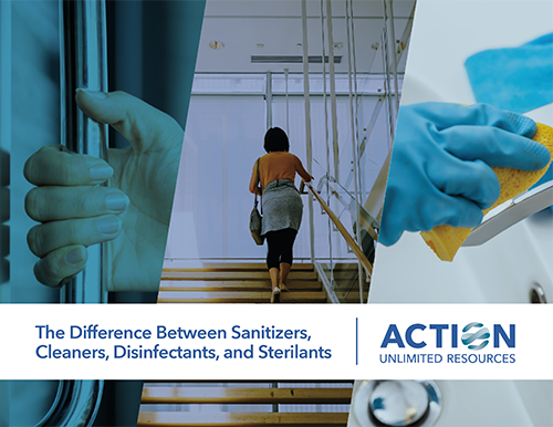 The Difference Between Sanitizers, Cleaners, Disinfectants, and Sterilants